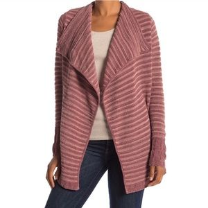 Susina Chenille Cardigan Open Front New NWT Petite